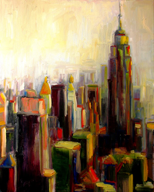 Painting of Midtown Symphony